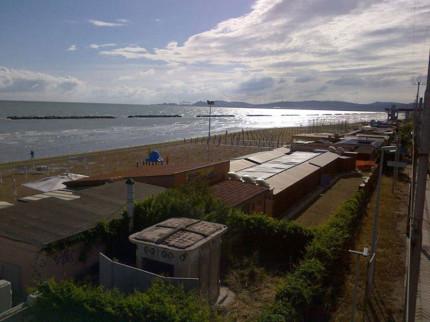 La spiaggia di Palombina di Ancona