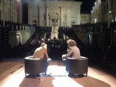 Simone Cristicchi a Sharper - la Notte Europea dei Ricercatori 2014 - ad Ancona