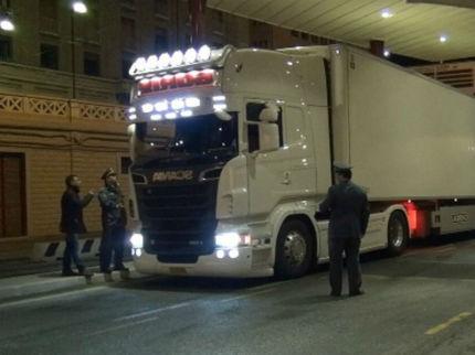 Tir al Porto di Ancona