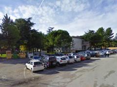 La zona dell'Istituto Montalcini di via Paganini, a Chiaravalle