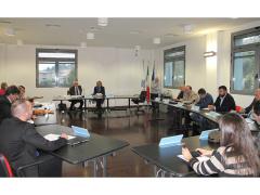 prima seduta del nuovo consiglio provinciale di Ancona