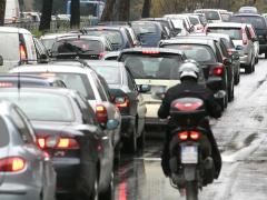 traffico, automobili, smog, caos, viabilità, macchine