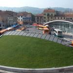 piazza Ugo Bassi ad Ancona