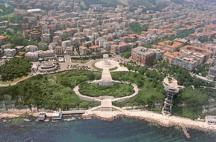 Ancona, vista del Passetto