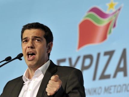 Alexis Tsipras, leader del movimento Syriza