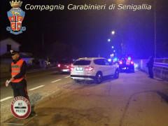 Controlli e posti di blocco da parte dei Carabinieri della Compagnia di Senigallia