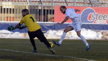 Pro Piacenza - Ancona, gol di Tavares