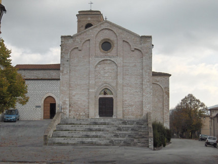 La chiesa di San Francesco- a Sassoferrato (XIII Sec)