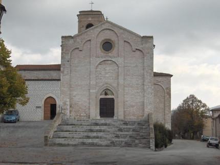 La chiesa di San Francesco- a Sassoferrato (XIII Sec)