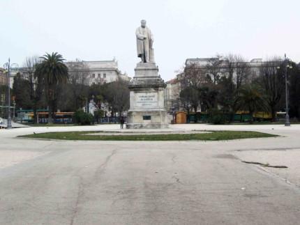 Piazza Cavour ad Ancona