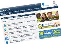 Home page di Italia Lavoro