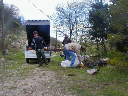 La caccia ai rifiuti 2014 a Sassoferrato