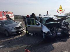 Falconara: incidente tra due autovetture sulla SS 76