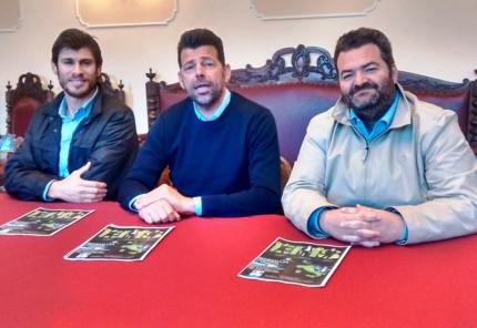 Presentazione del film promosso dall'ENS a Senigallia: da sx Diego Pieroni, Maurizio Mangialardi e Enzo Monachesi
