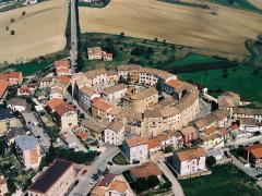 Veduta aerea di Camerata Picena