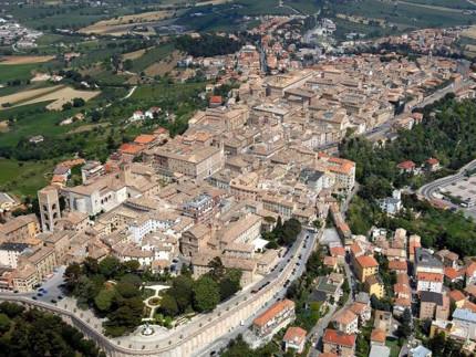 Veduta aerea di Osimo