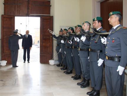 visita del prefetto al Comando Regionale Marche della Guardia di Finanza di Ancona