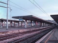 stazione Fs di Ancona, treni, binari, ferrovie
