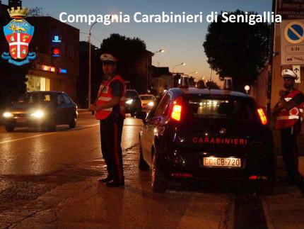 Controlli dei Carabinieri di Senigallia