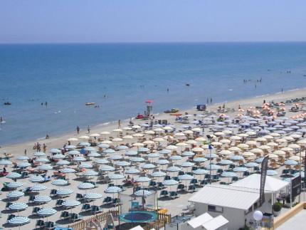 La spiaggia di Senigallia. Foto di SenigalliaNotizie.it. All rights reserved