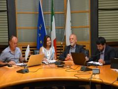 Conferenza del M5s sulla discarica di Maiolati