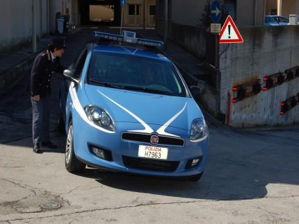 Volante della Polizia di Ancona