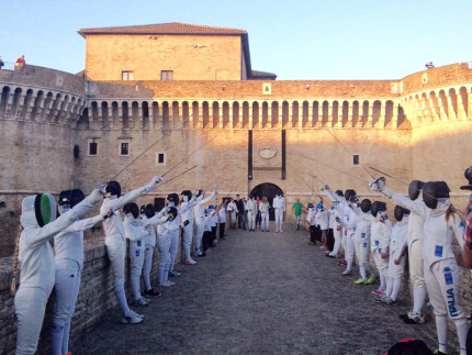 fencing mob 2015 a Senigallia