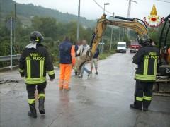 Fuga di gas a Serra San Quirico