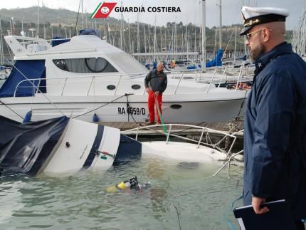 Affondamento barca