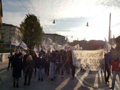 Corteo Trivelle Zero/Marche ad Ancona