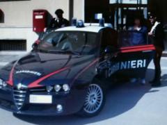 L'arresto avvenuto a Montemarciano da parte dei Carabinieri