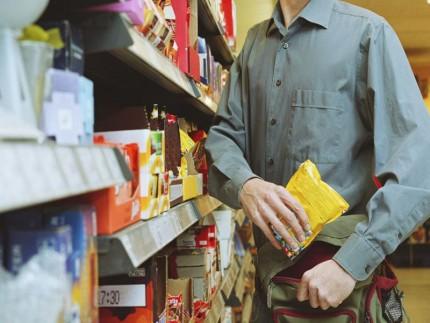 Furto al supermercato