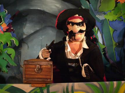 Teatro ragazzi: il tesoro dei pirati dell'ATGTP