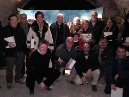 Premiazione mostra presepi ad Ancona