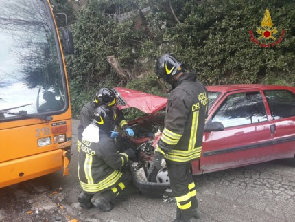 Incidente a Montacuto di Ancona