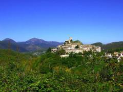 La località Appennino, frazione di Pieve Torina, comune del maceratese