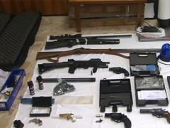 Armi sequestrate dalla Polizia