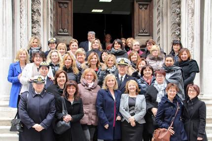 """L'8 marzo le donne militari e civili della Marina Militare di Ancona hanno celebrato la """"Giornata Internazionale della Donna"""""""