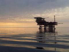 piattaforma, trivelle per l'estrazione di gas e petrolio in mare, ambiente, energia