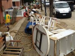 Maltempo: danni a Marotta per gli allagamenti
