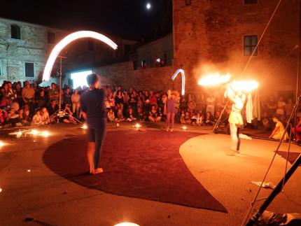 Un momento del festival Nottenera (edizione 2015 _ Foto di Daniele Silvi) a Serra de' Conti