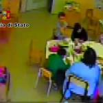 maestra sospesa della scuola materna