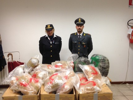 Sequestro di marijuana ad Ancona