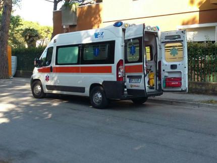 Ambulanza, incidente