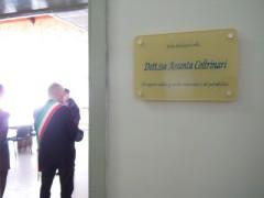 Intitolazione sala a Falconara Marittima