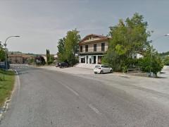 La filiale di Veneto Banca a Casine di Ostra