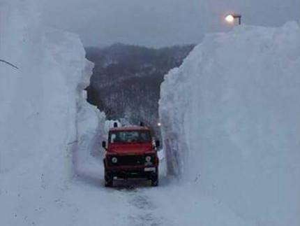 L'emergenza neve nelle Marche del gennaio 2017