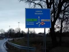Segnaletica stradale, Castelfidardo