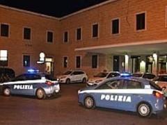 Polizia in piazza Rosselli, ad Ancona
