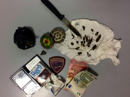Sequestro di hashish e marijuana